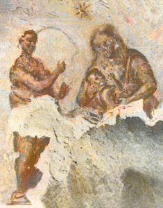 Катакомба Сан-Себастиано, Рим, 2 век.